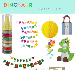 Dinosaur Party Inspiration and Ideas