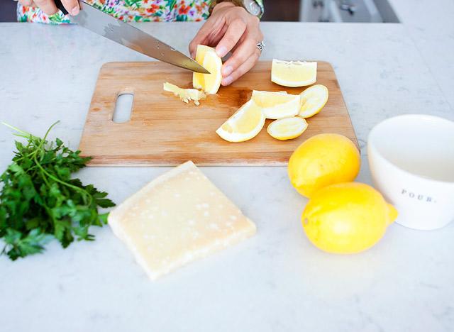 How to De-seed a lemon