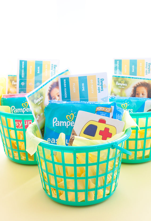 Pampers Easy Ups Potty Training Goodie Baskets