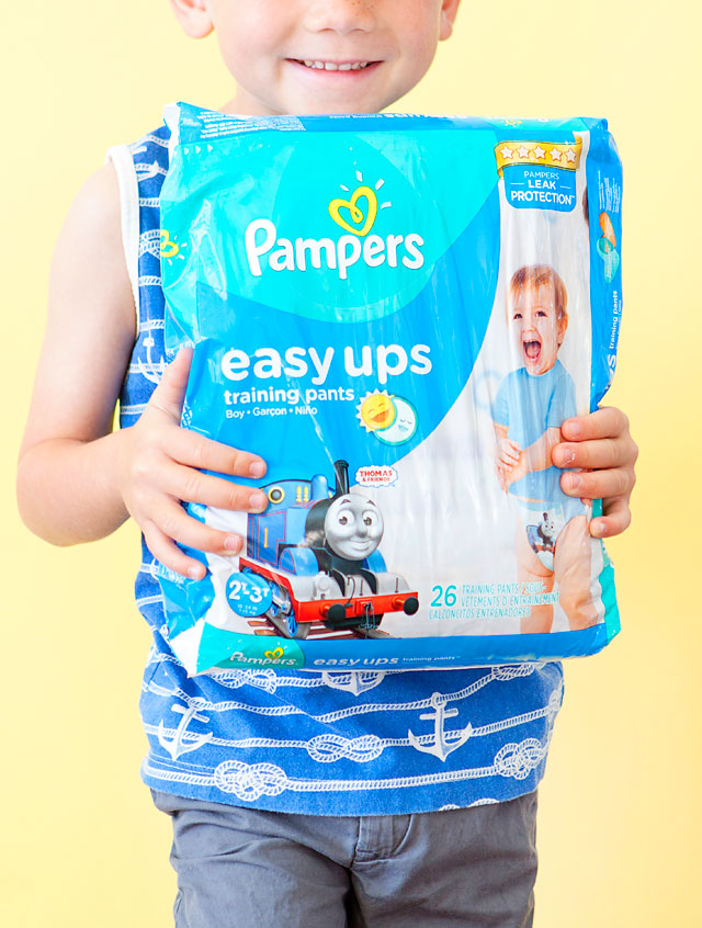 Pampers Easy Ups Party Potty Training Advice Armelle Blog