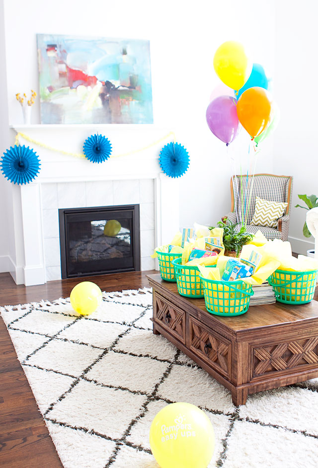 Pampers Easy Ups Potty Training Party and Potty Training Advice