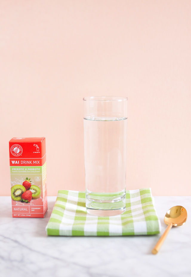 Strawberry Kiwi Probiotic Fiber Healthy Drink Mix