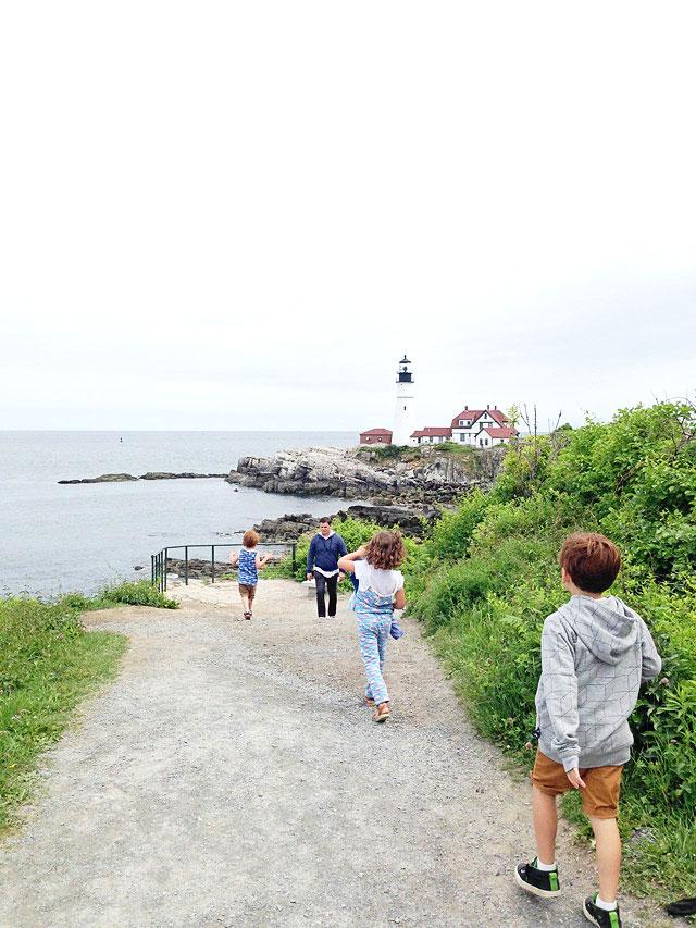 Famous Maine Lighthouse Portland Head Light