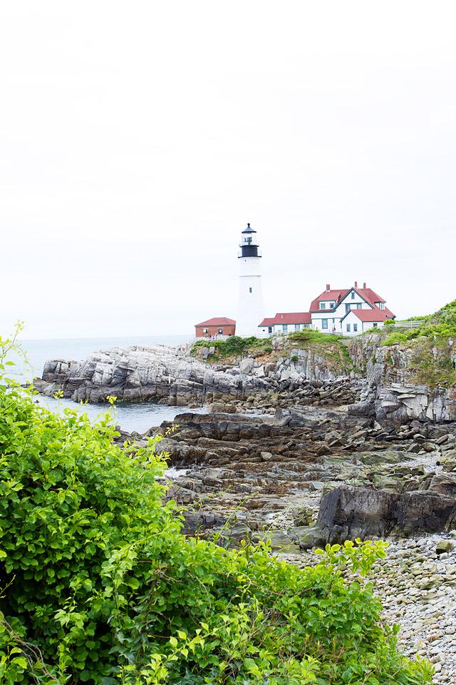 Maine Portland Head Light Lighthouse