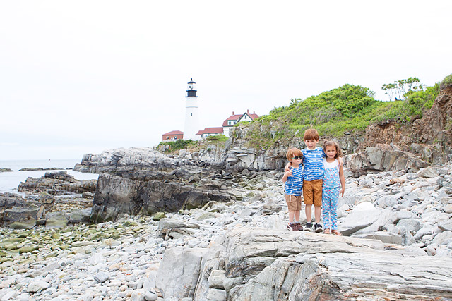 Family Travel Portland Maine
