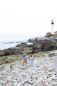 Portland Head Light Cape Elizabeth Maine Family Travel with Kids