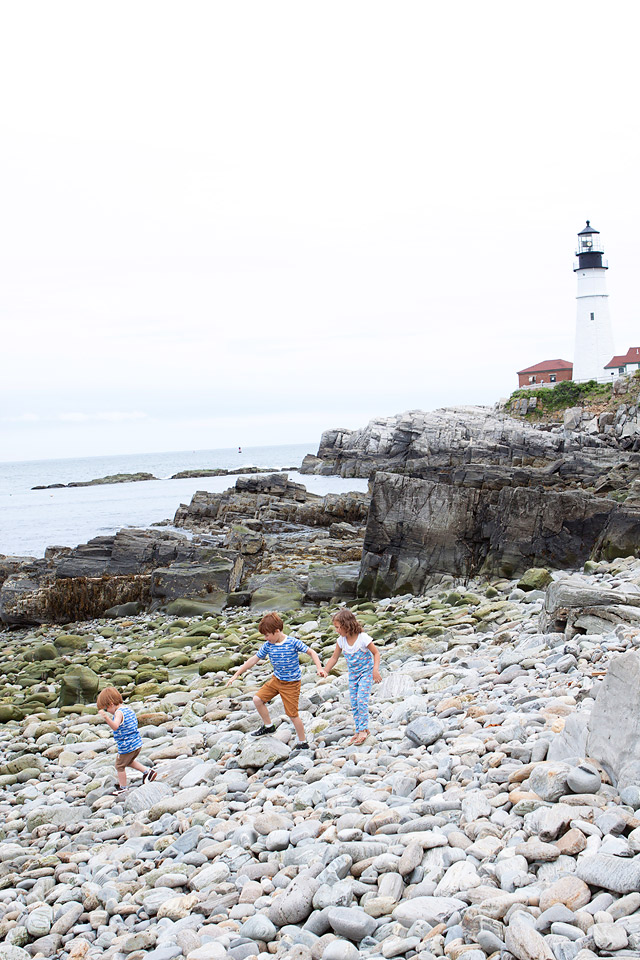 Portland Head Light Cape Elizabeth, Maine Lighthouse // Family Travel