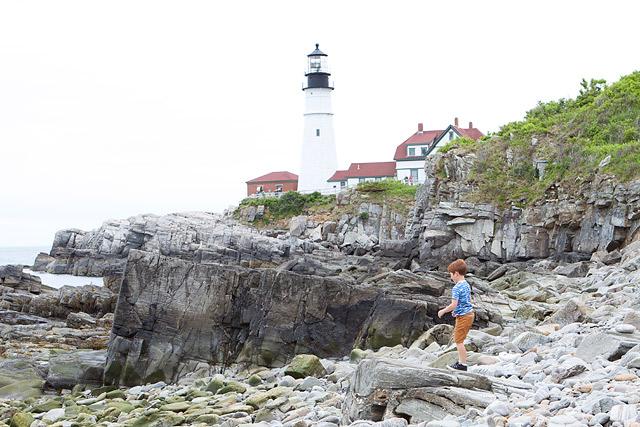 Maine Lighthouse Portland Headlight