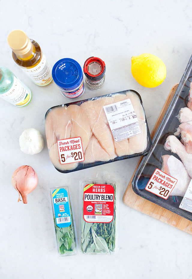 Simple and Easy Lemon Herb Chicken Marinade with Harmons Grocery Meat