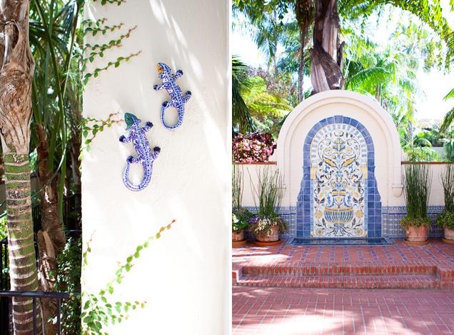 Four Season Resort Santa Barbara The Biltmore Grounds
