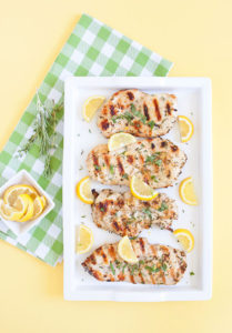 Easy Grilled Chicken with Lemon and Herbs Recipe with Harmons Grocery Meats