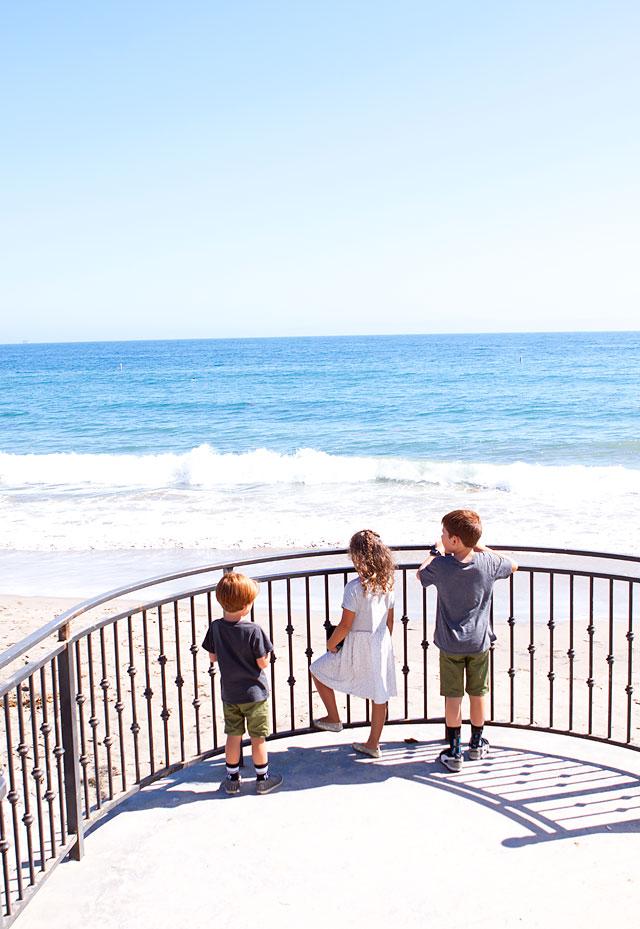Kids at Monarch Beach Santa Barbara