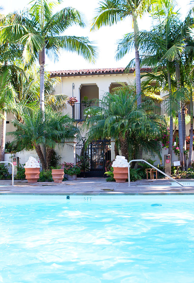 Four Season Resort Santa Barbara The Biltmore Pool