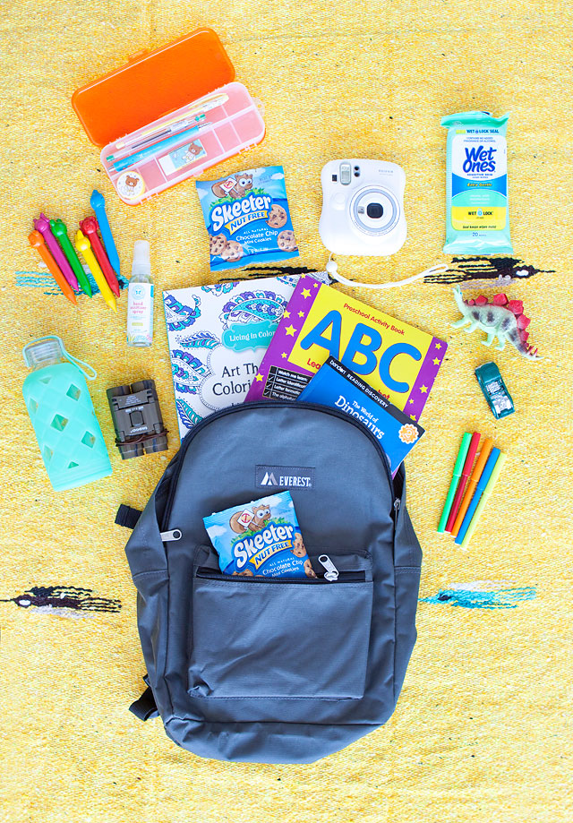Favorite Road Trip Essentials for Kids // Skeeter Nut Free