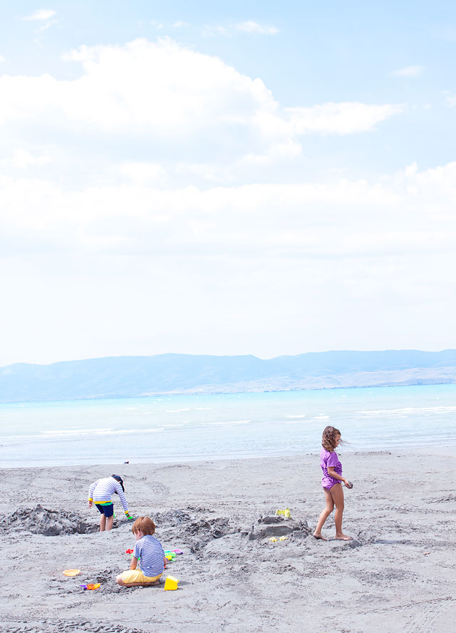 Travel with Kids Bear Lake Fun