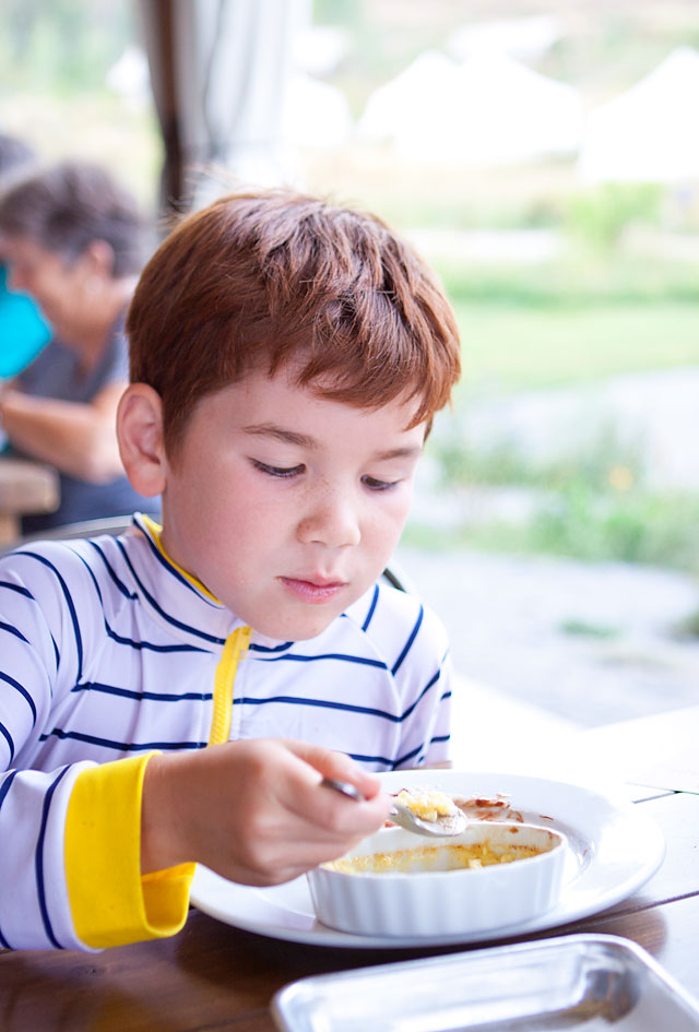 Kids fine dining
