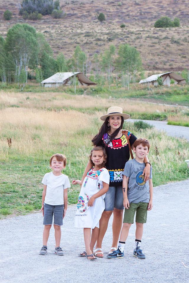 Family Travel Conestoga Ranch Bear Lake