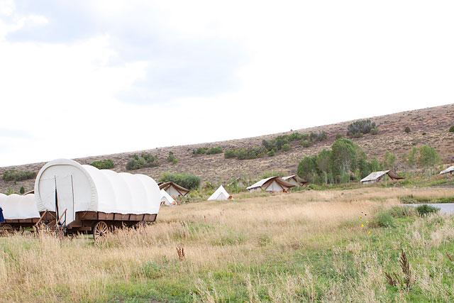 Grand Tent at Conestoga Ranch Bear Lake