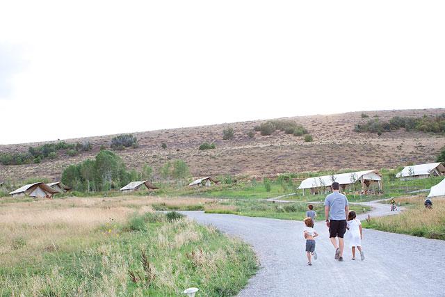 Family Luxury Travel Conestoga Ranch Bear Lake