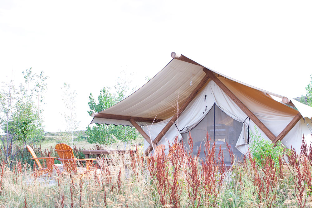 Grand Tent at Conestoga Ranch Bear Lake