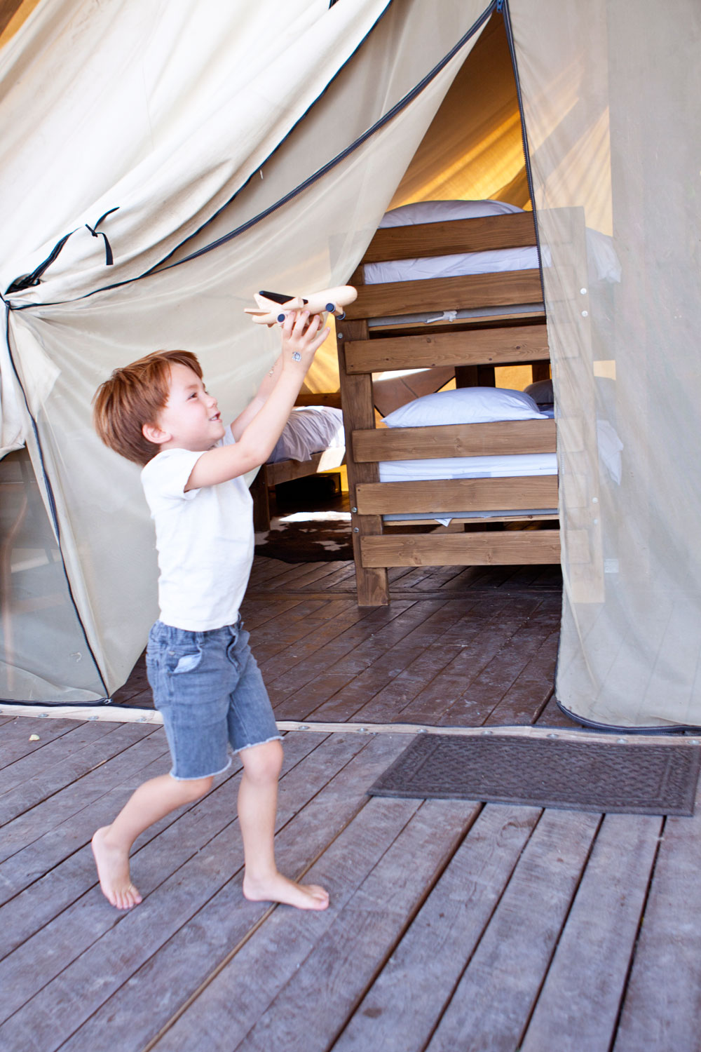Bear Lake Family Friendly Glamping Resort Rentals for Kids