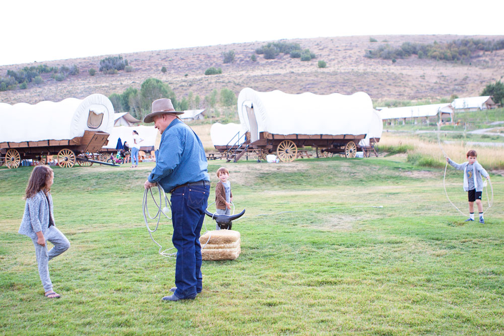 Roping Steer Games at Conestoga Ranch