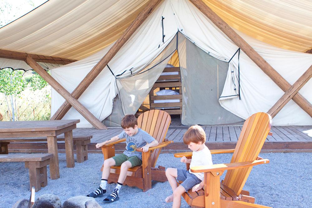 Bear Lake Family Friendly Glamping Resort Rentals for Kids