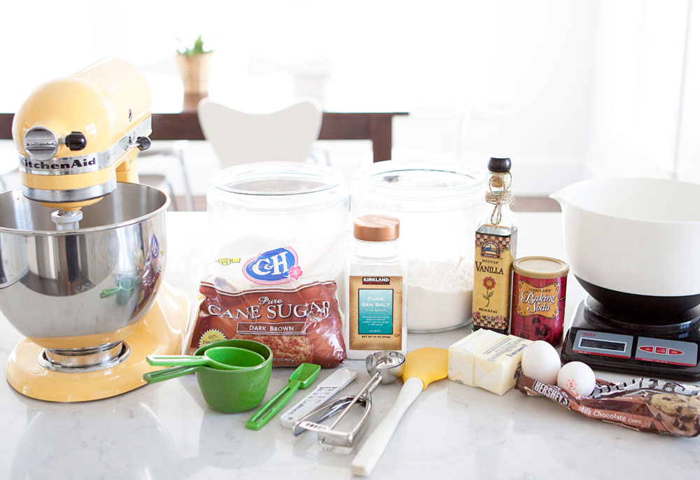 Easy Chocolate Chip Cookies Recipe Ingredients