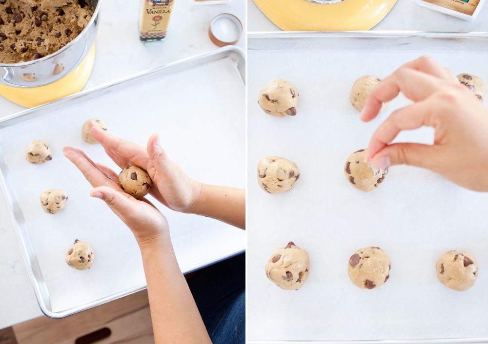 Making Chocolate Chip Cookies