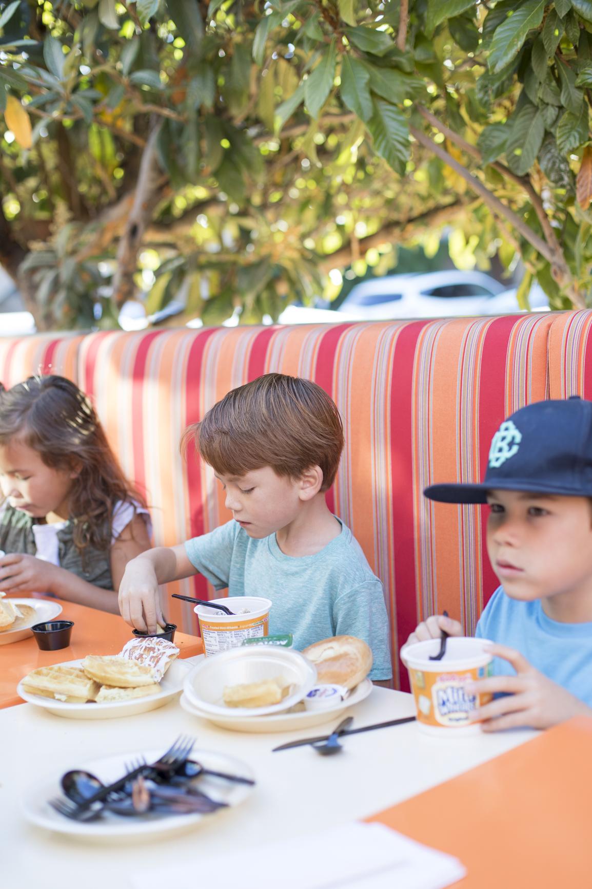 Breakfast at the Orchards Inn Hotel Sedona