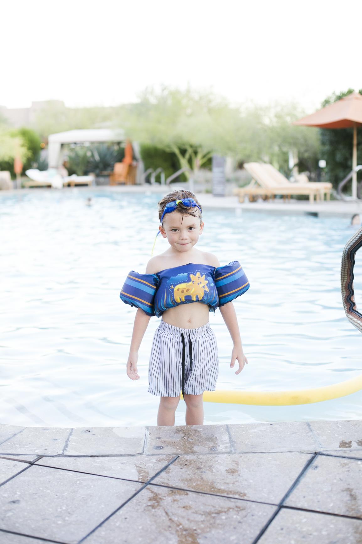 Resort Wear at the Four Season Resort Scottsdale