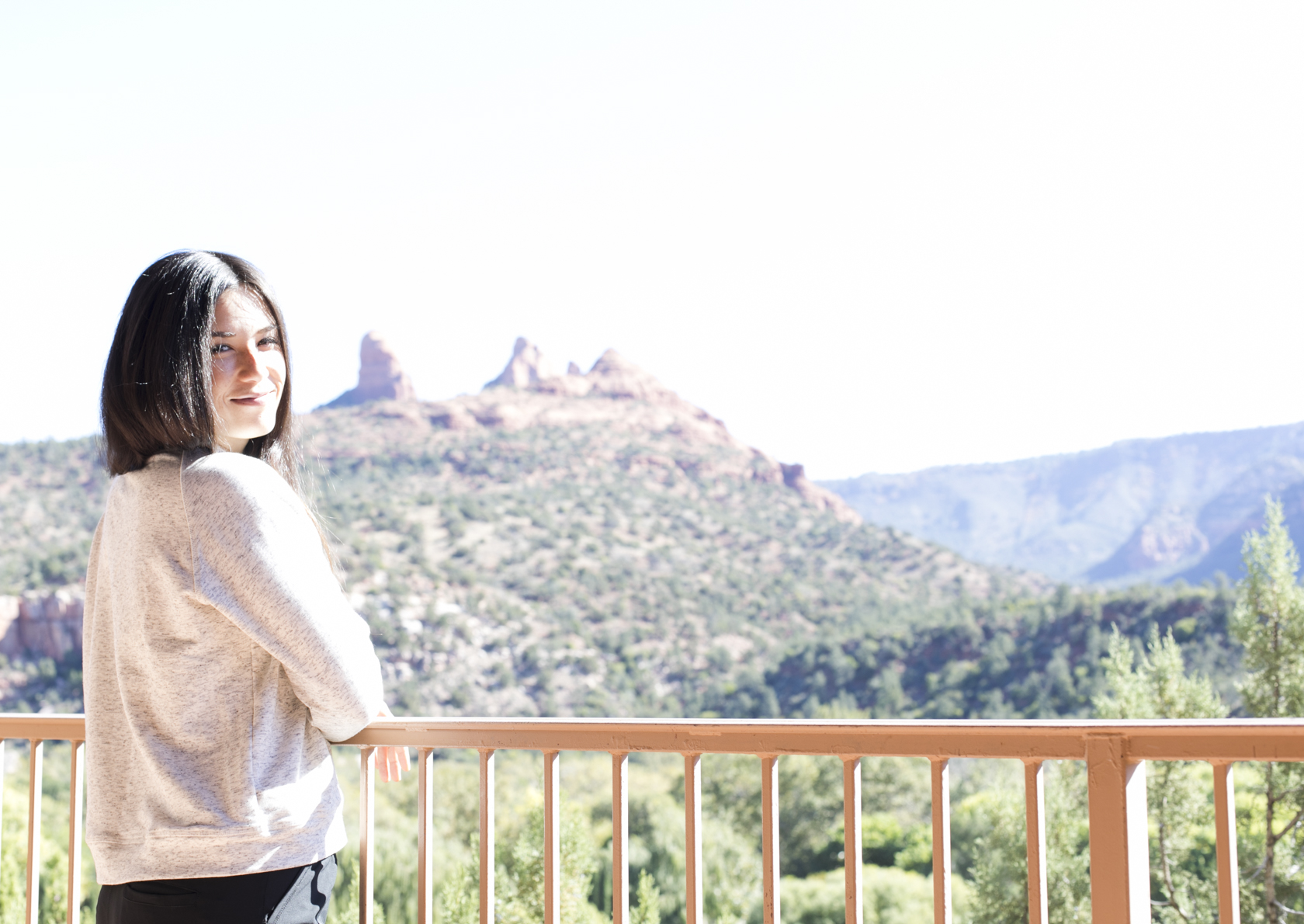 View at the Orchards Inn Sedona Hotel
