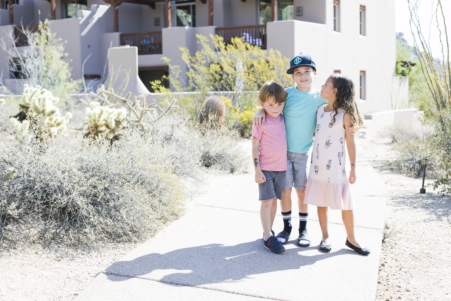 Family Travel Four Seasons Kids Club Resort Scottsdale Desert Vacation