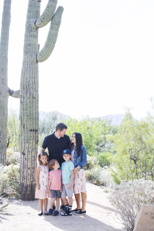 Family Travel Four Season Resort Scottsdale Desert Vacation