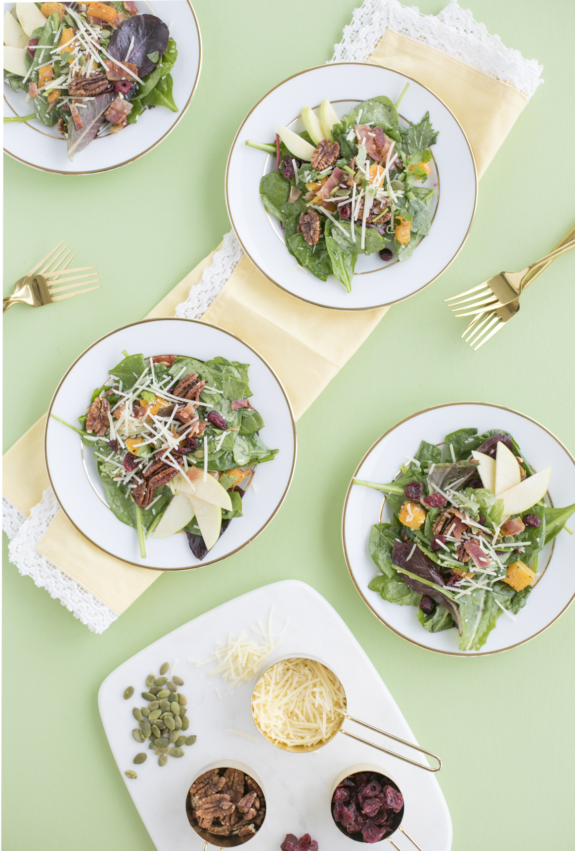 Fall Inspired Thanksgiving Salad Recipe