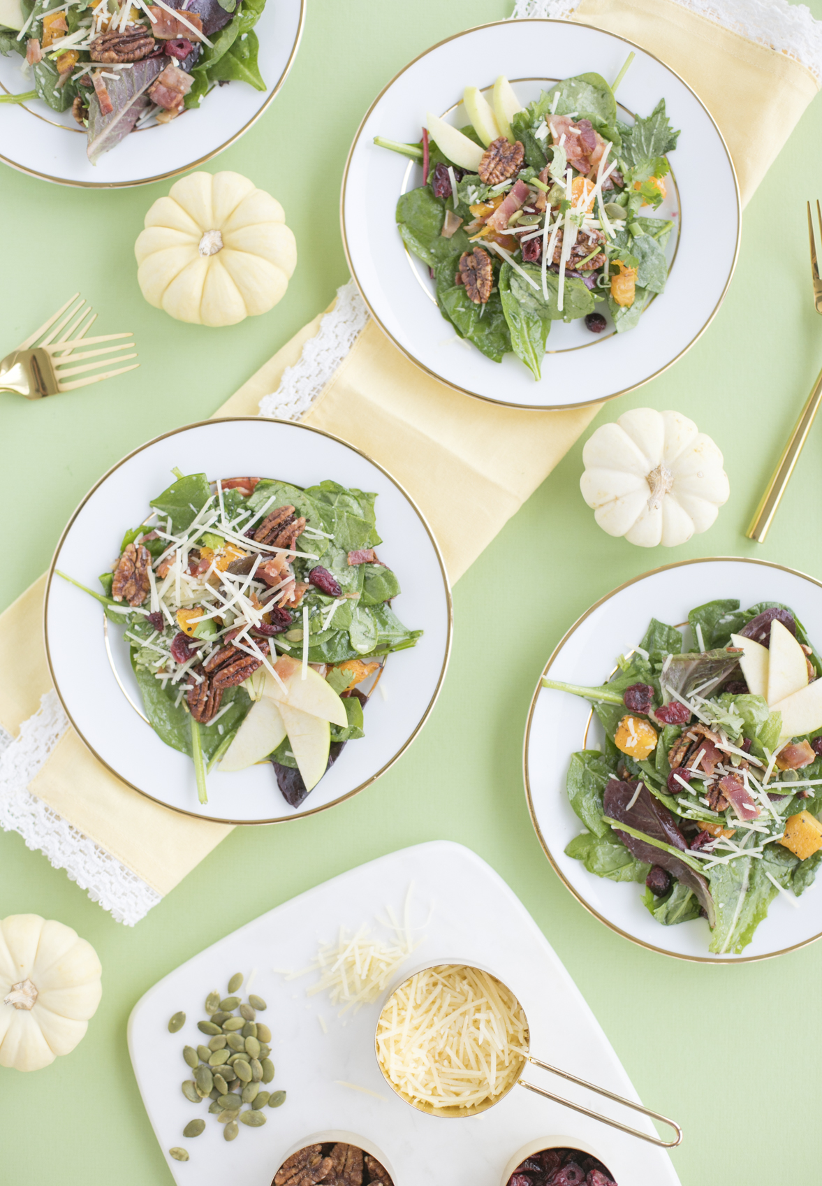 Fall Inspired Thanksgiving Salad Recipe