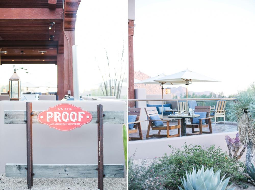 Proof Canteen Four Seasons Resort Scottsdale Restaurant