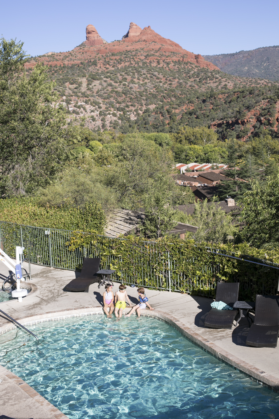 Swimming Pool at the Orchards Inn Sedona Arizona Hotel