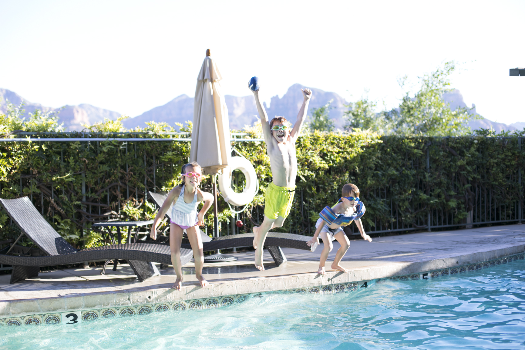 Swimming Pool at the Orchards Inn Sedona Arizona Hotel