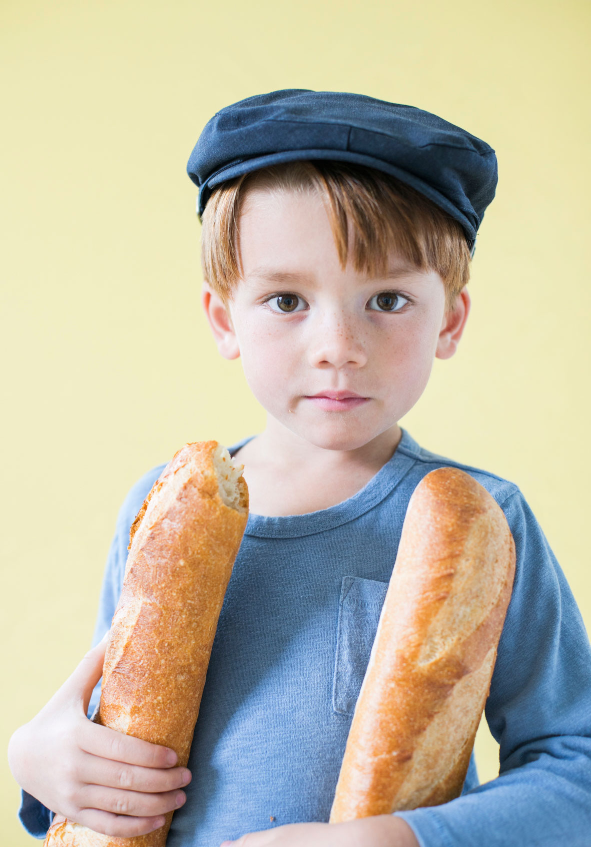 Child with a Baguette