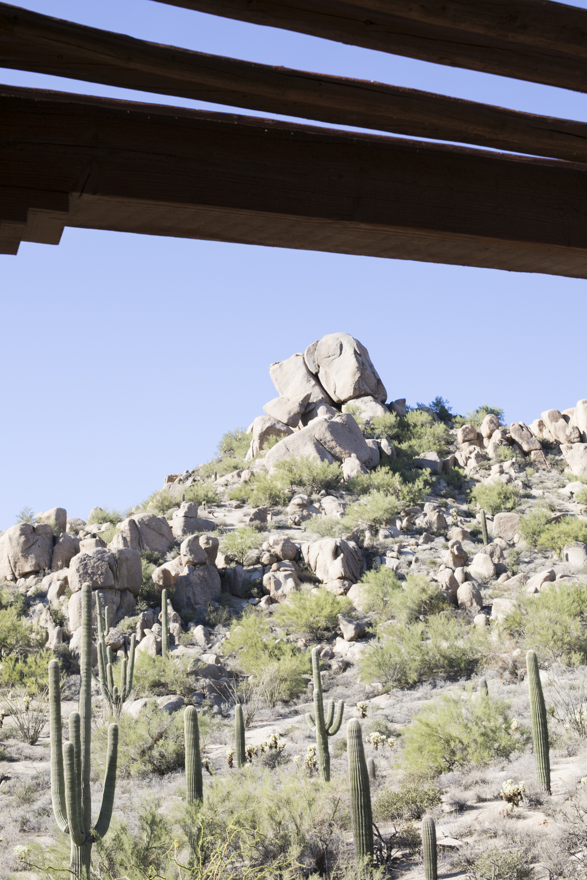 Balcony View from the Four Seasons Scottsdale