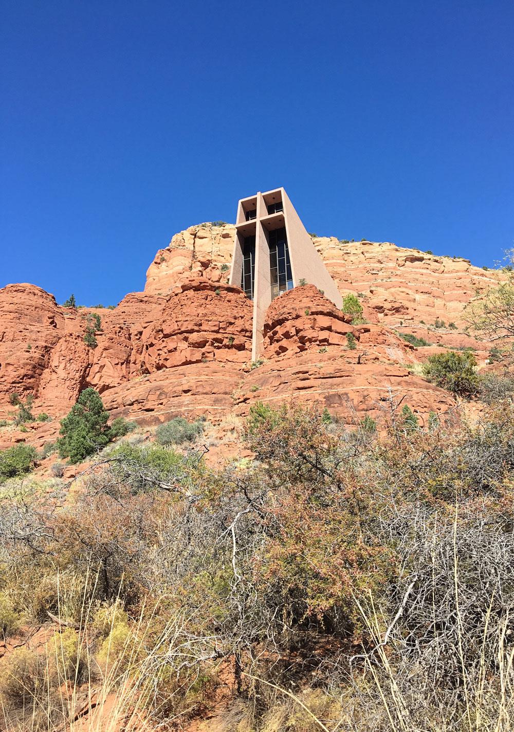 Sedona Arizona Chapel of the Holy Cross
