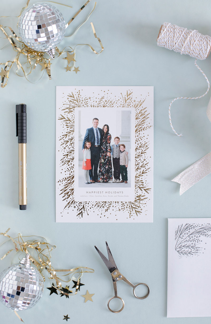 Personalized New Years Cards from Minted