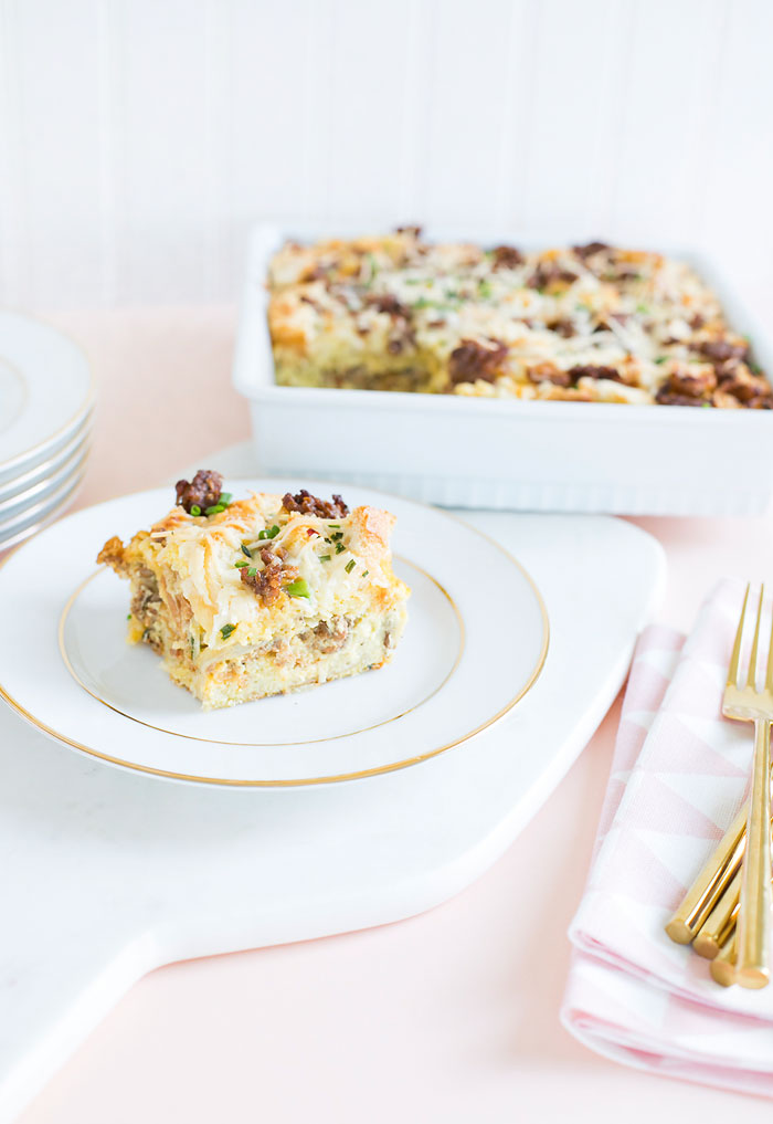 Italian Sausage Savory Bread Pudding Recipe