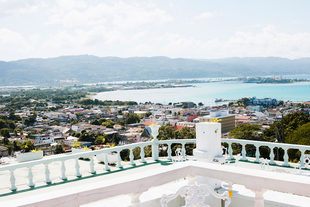 Views of Downtown Montego Bay Jamaica