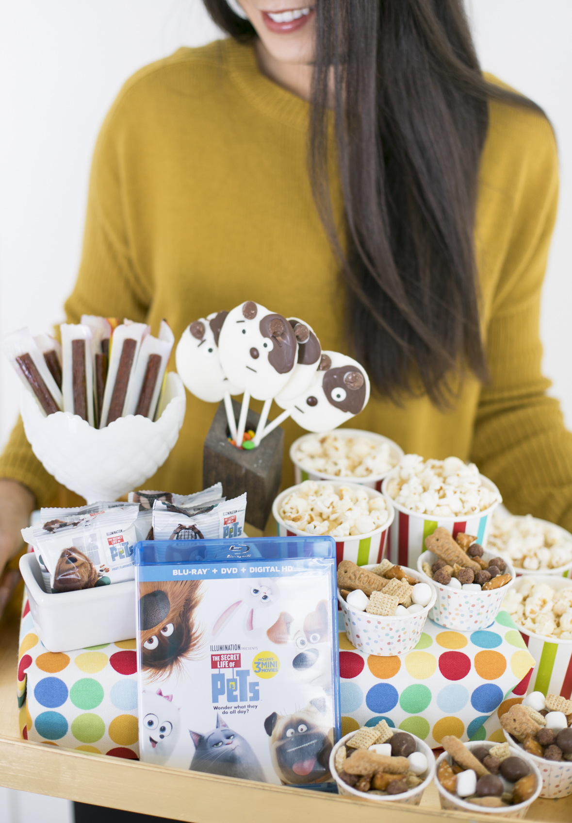 The Secret Life of Pets Movie Party Snack Tray
