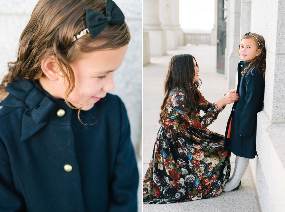 Mom and Daughter Girls Fashion