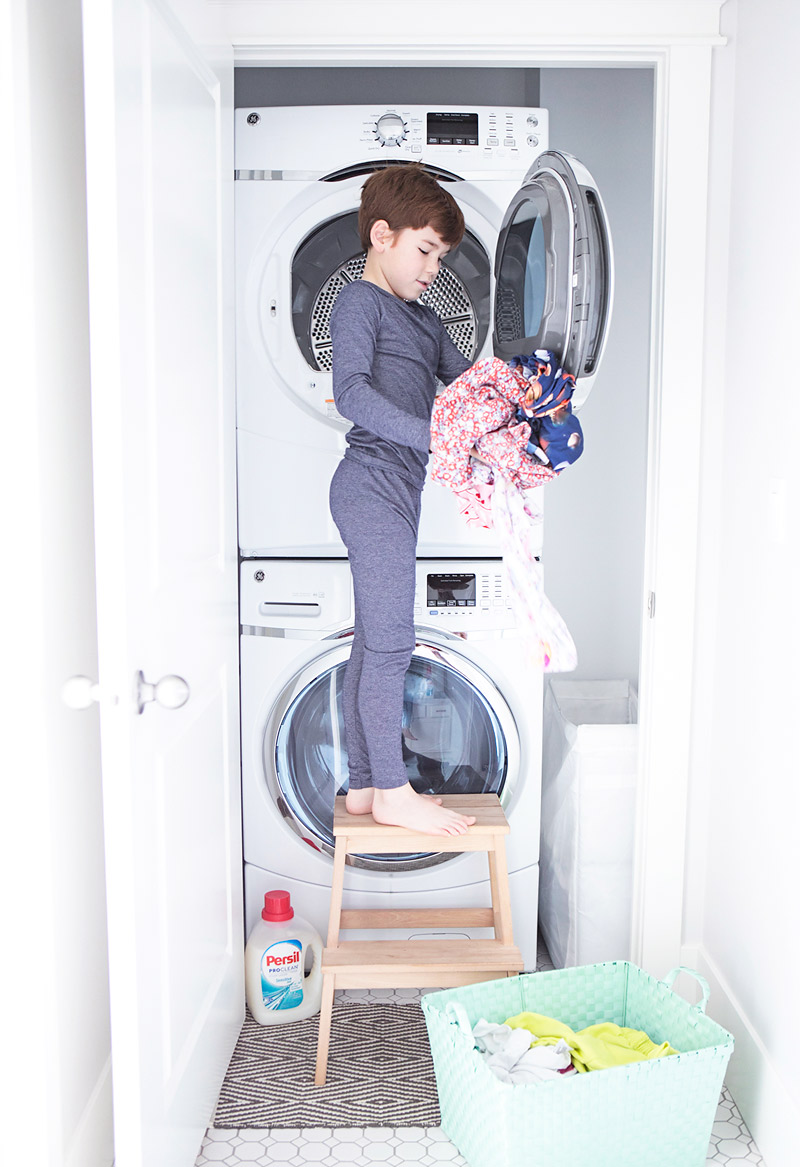 Kids Helping with the Laundry Chores