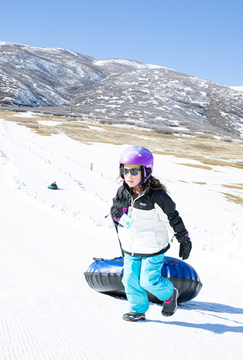 Soldier Hollow Tubing Winter Activities in Heber Valley