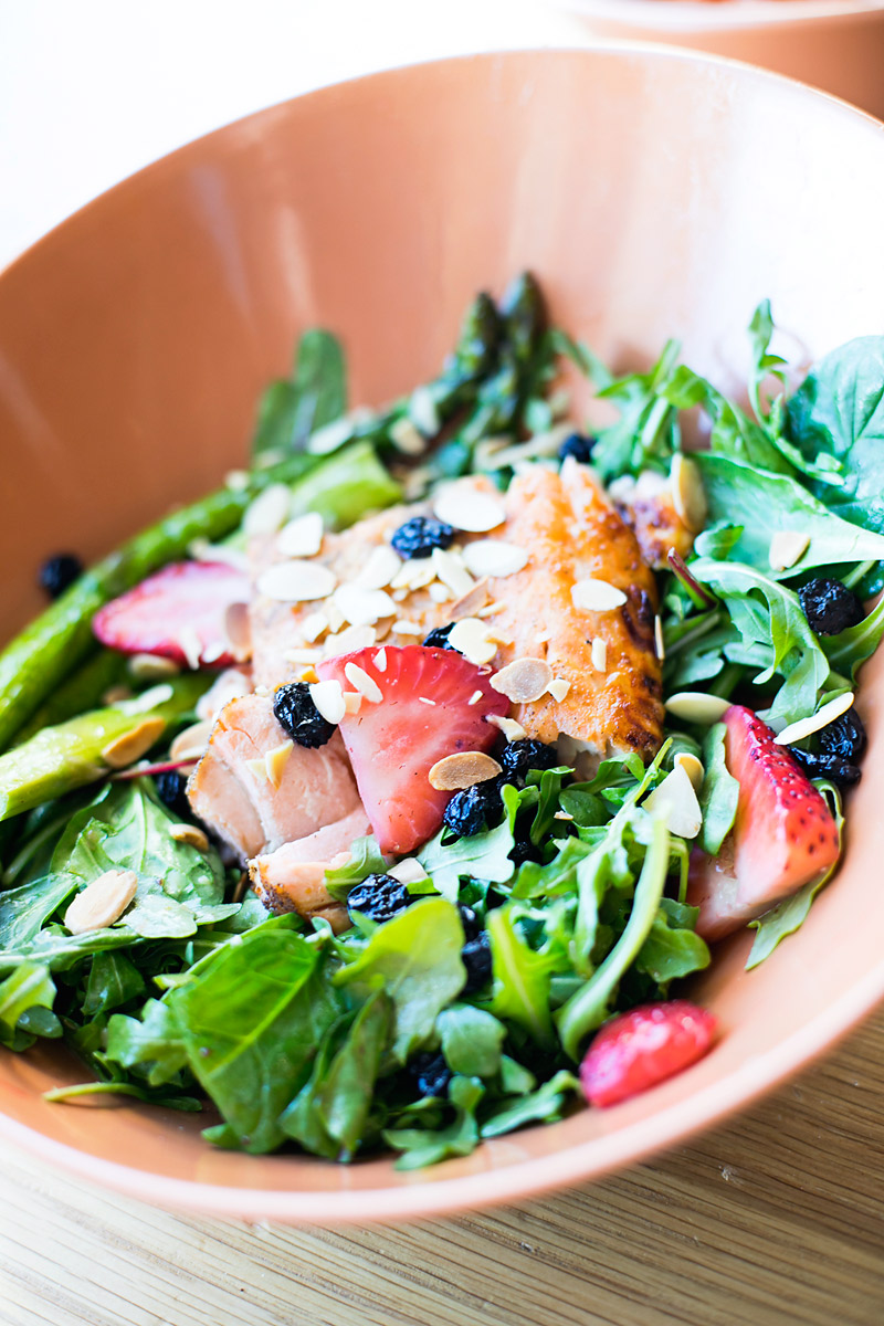 Fresh Salmon Salad from Steamboat Springs Resort